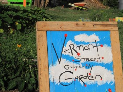 One of Detroit's many community gardens.
